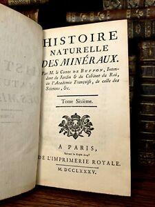 1785 NATURAL HISTORY OF MINERALS - Cobalt, Nickel, Magnesium, Crystallization