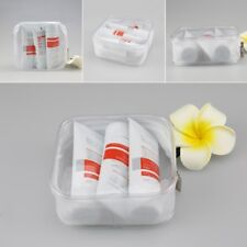 PVC Clear Makeup Cosmetic Bag Portable Toiletry Pouch Transparent Waterproof NEW