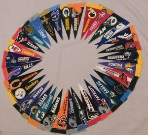 "NFL Mini Felt Pennant - 9"" Pick Your Team Rico Tag Express"