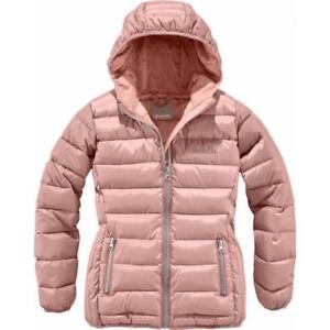 BENCH Damen Mädchen Jacke Kapuze Steppjacke warme Winterjacke rosa Gr 176 182