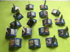 ►►Polish set of 18 3D POP-up Chio Lays 2002 cards Star Wars three dimensional