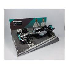 "Bburago 38026 Mercedes AMG Petronas F1WO7 ""Nico Rosberg"" #6 Modellauto NEU!°"
