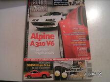 **c Retro viseur n°198 Alpine A 310 V6 / Austin Princess VandenPlas 1300 / ACCLC