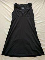 Women's Columbia Omni-Wick Sleeveless V-Neck Black Dress Size Small