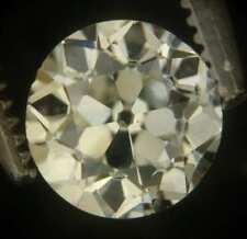 Super 0.74carat OLD EUROPEAN Antique diamond L-M SI-1