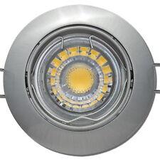 LED Decken Einbauspots Strahler Lampen / 220V / 3W / Silber / LED Warmweiß 3000k