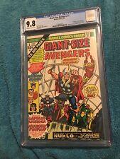 Giant-Size Avengers #1 CGC 9.8 Marvel 1974 1st Nuklo! Thor! Iron Man! H11 118 cm