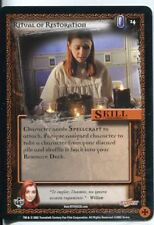 Buffy CCG TCG Angels Curse Limited Edition Card #14 Ritual of Restoration