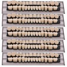 140pc 5Set Denture Acrylic Resin Full Set Teeth Upper Lower Shade 23#A2 Dental