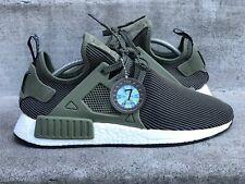 2016 Adidas NMD XR1 sz 9.5 Sneaker Savant Grade 7/10 PK OLIVE GREEN WHITE PK R1