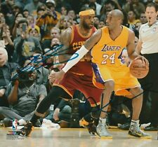 Kobe Bryant /LeBron James Autographed Signed 8x10 Photo ( HOF Lakers ) REPRINT ,