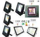 Slim Style LED Outdoor 10W-300W  LED Flood light black waterproof IP 65