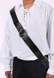 Black Shoulder Strap Sword Holder