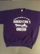 Somewhere in Time Morristown Ohio Purple Sweatshirt XL