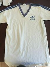 Vintage 1970s Adidas V Neck Trefoil Blue XL (fits more like medium)