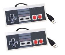 2x Estilo Nintendo NES Controlador Gamepad Joystick Usb Pc Mac Frambuesa retropie