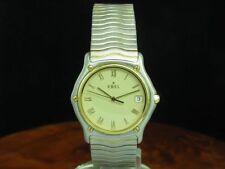 Ebel Sport Classic Wave 18kt 750 Gold / Edelstahl Herrenuhr / Ref 1187141