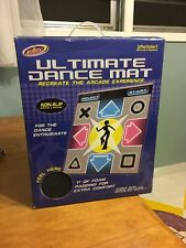 "Intel Dance Dance Revolution Ultimate Dance Mat 1"" Foam PS1 PS2 NEW Never Used!!"