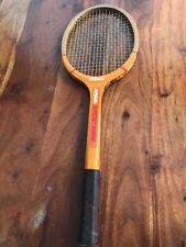 Vintage Wilson Prestige Billie Jean King Wood Tennis Racquet Strata-bow (JL)