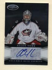 2012-13 Certified Hockey Certified Signatures Allen York Autograph Blue Jackets