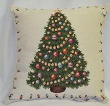 Kissenbezug 45x45/Baum/Weihnachten/Gobelin/flauschig/WEIHNACHTSANGEBOT