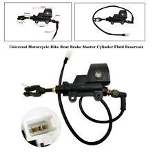 Universal Motorcycle Bike Rear Brake Master Cylinder Fluid Reservoir Accessories
