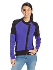 Fox Racing Bold Fleece Jacket Purple and Black Zip Up Size S or L $80 D25 NWT