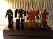 Gobots four(4) Vintage Action Figure Robots Lot Tonka Corp