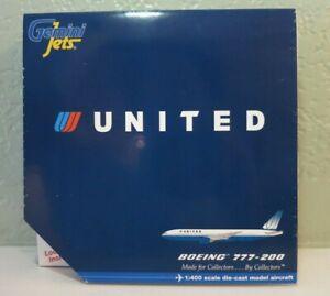 Gemini Jets United Airlines Boeing 777-200 - 1/400 - N769UA - GJUAL659