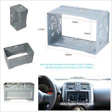 Metal 2Din Hardware Mounting Cage Dash Kit For Car Radio DVD Stereo Installation