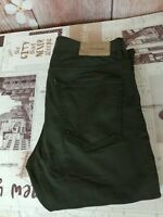 J Lindeberg men's slim fit chaki green jeans size W33/L31 C1