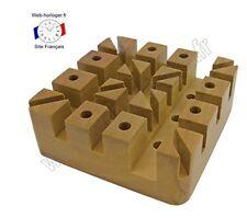 Support pour réparation bracelet de montre en bois massif - Holding Block wooden
