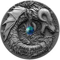 NORSE DRAGON – DRAGONS SERIES – 2019 2 OZ $2 NIUE PRESALE