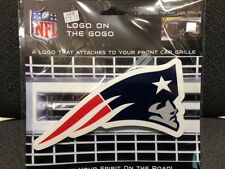 NFL NEW ENGLAND PATRIOTS Logo on the GoGo not a sticker / decal sign