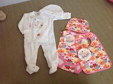 Baby girl 6 Piece Set Sizes 1, 0, 00, 000, 0000 BNWT newborn
