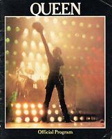 QUEEN 1980 THE GAME U.S TOUR CONCERT PROGRAM BOOK BOOKLET-FREDDIE MERCURY-VG/EX
