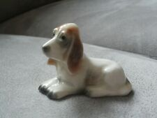 vintage W.goebel dog figure blood hound basset hound