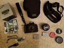 Canon EOS Rebel T2i / EOS 550D 18.0MP Digital SLR Camera - Black (EXTRAS)