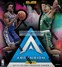 2017-18 PANINI ASCENSION NBA BASKETBALL FACTORY SEALED HOBBY BOX NEW EXPRESS WOW