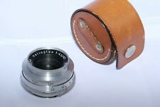 Meyer-Optik Heliopan 40mm f4.5 compact flat field lens for Exakta. Sony a7rIV.