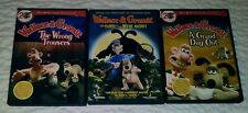 Wallace And Gromit 3 Dvd Curse of the Were Rabbit Grand Day Out Wrong Trousers