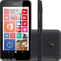 TOUT NOUVEAU Nokia Lumia 635 NOIR 4G LTE Déverrouiller 100% VÉRITABLE STOCK