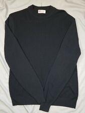 SPORTSWEAR By REVERE Vtg Retro Black Thermal Stretch Tycora Light Sweater Medium