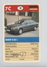 1990 ACE Super-Trumf Cars #7C BMW 535 i Non-Sports Card 0w6