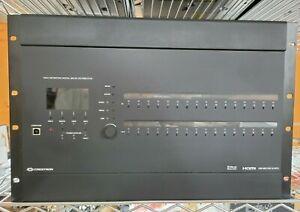 Crestron DM-MD16X16-RPS DigitalMedia™ Switcher w/ DMCO 5553 DMC-HD-DSP DMC-C-DSP