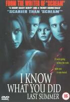 I Know What You Did Last Summer (DVD, 1999)
