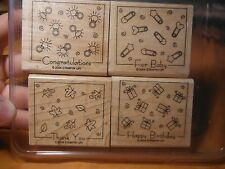 STAMPIN' UP STAMP SET ~ FABULOUS FOUR CREATIVE STAMPS FOR CREATIVE MINDS