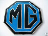 NEW Enamel Blue and Black MG BADGE MGB ZR ZS ZT 39mm