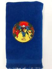 Grateful Dead Jerry and bears fingertip towel blue Garcia vintage FREE SHIP