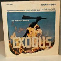 """EXODUS - Original Movie Soundtrack - 12"""" Vinyl Record LP - EX   LSO-1058"""